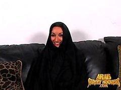 Busty Arab MILF Gets Fucked Doggy..