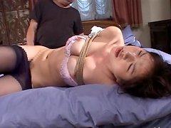 Yuko Kazuki Loves Playing Bondage Games