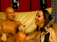 Ann Parker gets her hairy pussy..