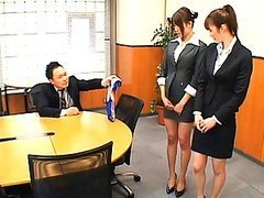 Junna Aoki hot Japanese teacher in her..