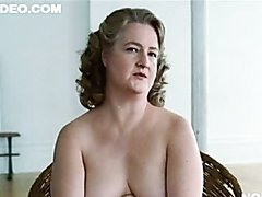 BBW Mature Blonde Marceline Hugot..