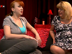 Blond BBW Curvy Sarah Gets Toyed and..