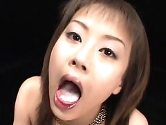 Stunning cum-swallowing compilation..