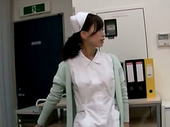 Sexy Asian Nurse is Playing With..