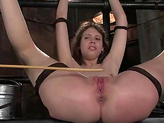 Kristine gets her mouth and ass..