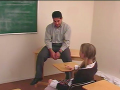 Kinky Teacher Spanked Naughty Whores..