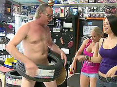 Outstanding Public Group Sex at an..