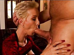 Short Haired Milf Gets Fucked By Her..