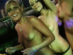 Wild Sex Party At A Strip Club With..