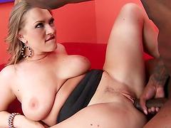Vicky Vixen the busty MILF gets rammed..