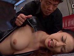 Hot bondage with the sexy Shiori Kamisak