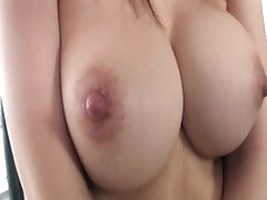 Busty japanese shows off on cam
