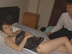 Matured Japanese Gets Pussy Licked And..