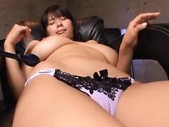 DD Cupped Hana Haruna Gets Her Hairy..