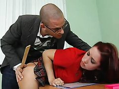 Redhead School Girl Kylee Strutt Loves..