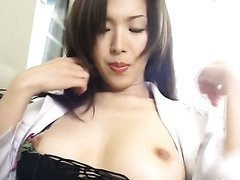 Masturbating Asian Teacher