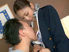 Rough sex with the horny Asian..