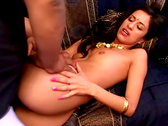 Hot Mehla gets fucked nice and deep in..