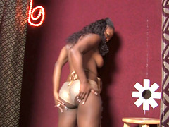 Goddess Ebony Angelica Black Goes In..