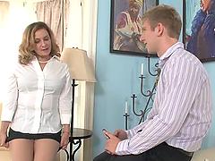 Danny Wylde licks and fucks Rebecca..