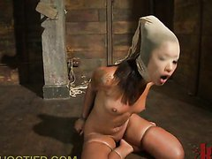 Submissive Chick Throat Fucked and..