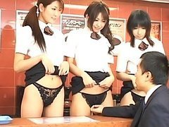Japanese AV Model as a cute waitress..