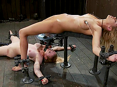 Darling and Rain DeGrey get humiliated..