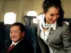 Kinky Flight Hostesses In Amazing..