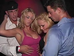 Exquisite Sabrina Gets Four Friends To..