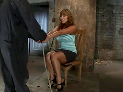 Big tittied Ava Devine gets dominated..