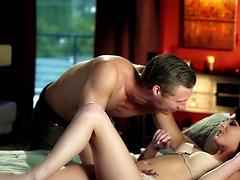 Beautiful Babe Kiera Winters Sucking..