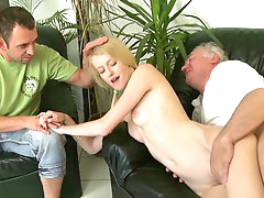 Young cutie Ginger being fucked by..