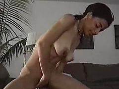 Petite Indian girl rides big dick in..