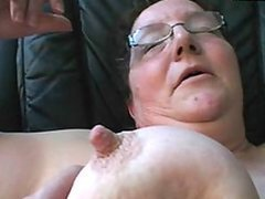 BBW Brunette Granny Gets Fucked and Swallows a Huge Load Of Thick Jizz