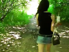 Outdoors POV Blowjob In Public By a..