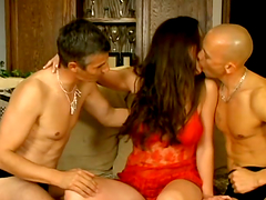 Busty brunette Felony enjoys banging..