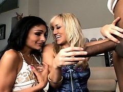 Alana Evans and Persia Pele Share Two..