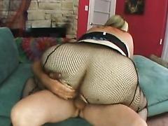 Curvylicious BBW gets Banged on a Sofa