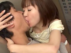 Asian Babe With An Amazing Ass Gags On..