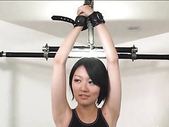 Asian Cutie Gets Tied Up And..