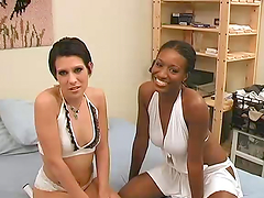 Remarkable Interracial FFM Threesome..