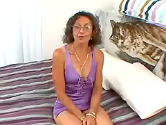 Nasty Granny With Small Tits Destroys..