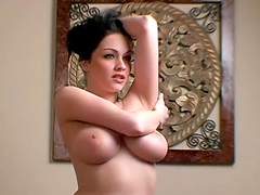 Wonderful Chelsea Strips And Shows Her..
