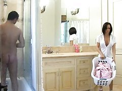 Slutty Milf Gags On Her Daughter's..