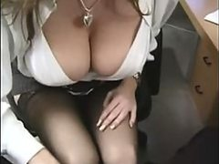 Gorgeous Office Slut With Big Jugs..