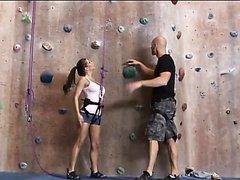 Rock Climbing Babe Rachel Roxxx..