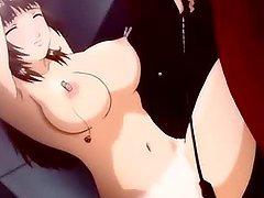 Bondage hentai cutie gets her nice..