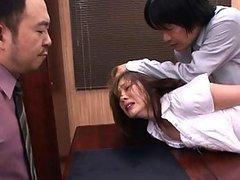Yuma Asami forced to strip at the..