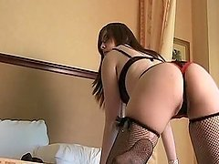 Beautiful Justine Sexy Lingerie Solo..