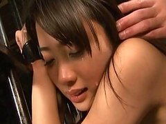Haruka Itoh in the prison is made to..